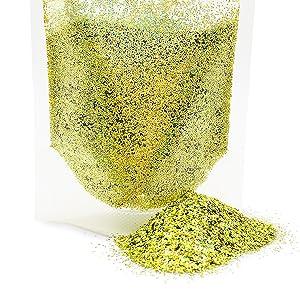 Biodegradable Glitter - Gold