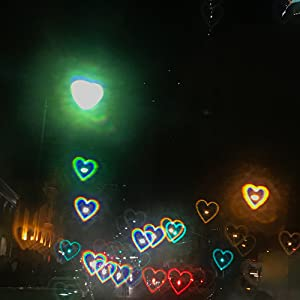 diffraction heart glasses hearts film rave effect lens special