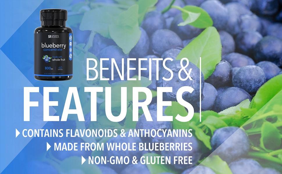 organic blueberry
