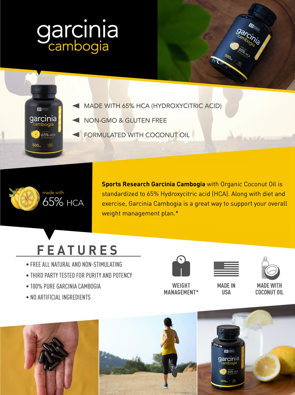 How Do I Get A Product Made Amazoncom Pure Garcinia Cambogia Extract With 65 Hca Made In