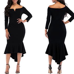 women off shoulder dress