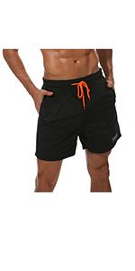 men swimwear beach trunks with pockets