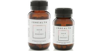 Hair and energy bottles