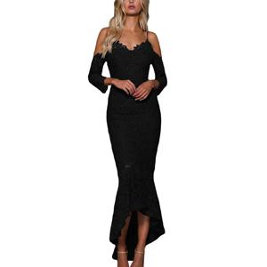 Long Lace Dresses for Women
