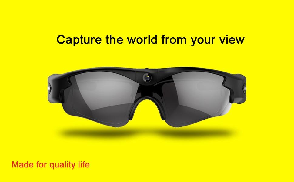 camera on glasses