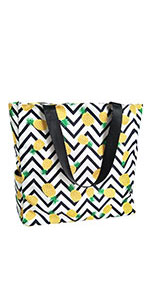 pineapple beach summer bag