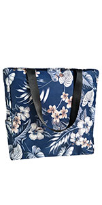 large floral summer purse