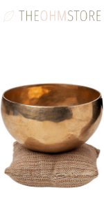 Small Batch Hand Hammered Tibetan Singing Bronze Bowl - 5 inch