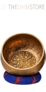 4-inch Tibetan Meditation Yoga Singing Bowl Set