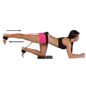 Booty Belt Exercise