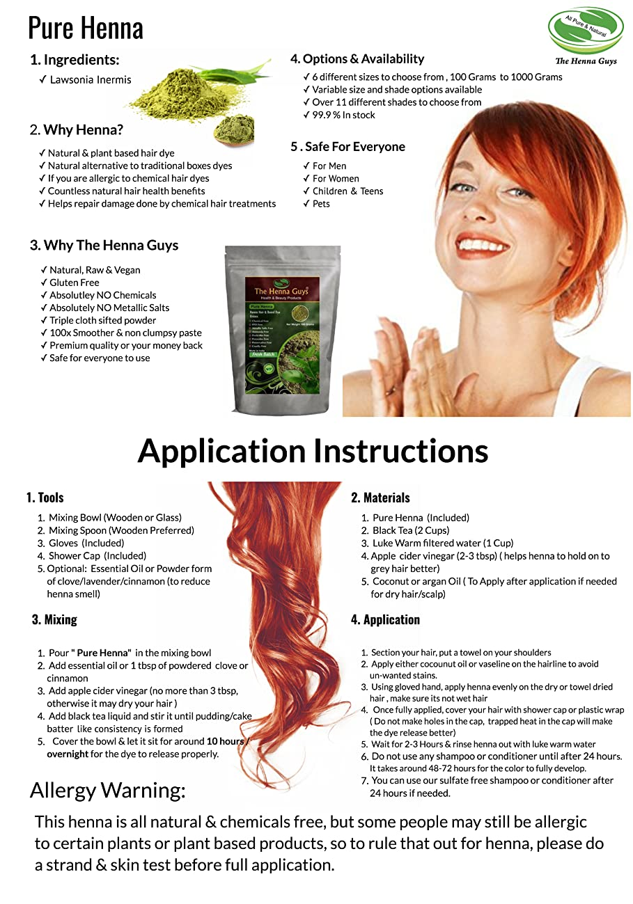 Amazon 100 Pure Natural Henna Powder For Hair Dye Color