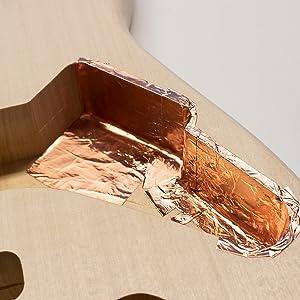 copper tape, copper, tape, emi shielding, emi, rfi, electric, guitar, electric guitar, shielding