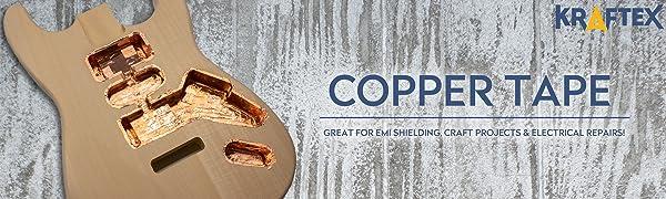 copper tape, copper, tape, emi shielding, shielding, emi, rfi