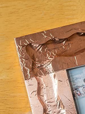 copper tape, copper, tape, frame, emboss, embossing, photo frame, family, picture