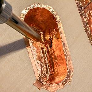 copper tape, copper, tape, emi shielding, emi, rfi, shielding, electric, guitar, electric guitar