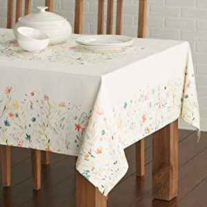About The Product: The Table Cloth From The U0027Colmaru0027 Collection Comes In  The Signature Watercolor Style Of U0027Maison Du0027Hermineu0027 With Prints Of  Beautiful ...