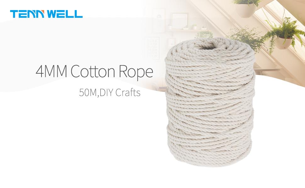4mm Macrame Cotton Cord