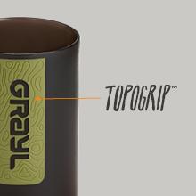 Nonslip Tactile TopoGrip