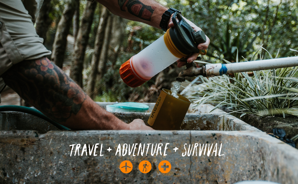 For international travel, outdoor adventure, and emergency survival.