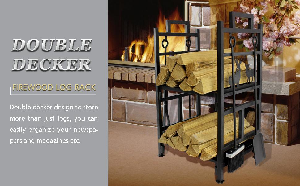 fire wood log rack