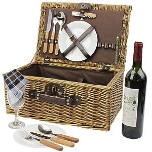 picnic basket hamper for camping