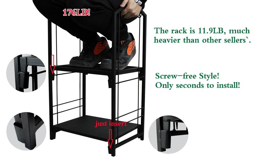 roomy log rack carrier holder