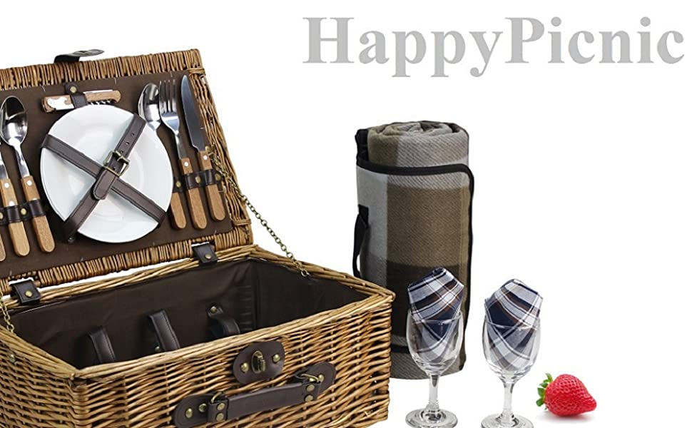large basket for 2 persons