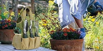 portable garden tote bag