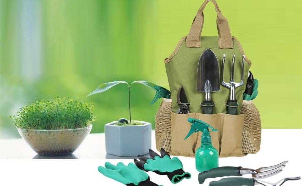 hand tools kit for gardening indoor