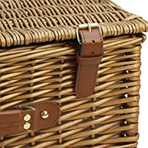 wicker hamper for 2