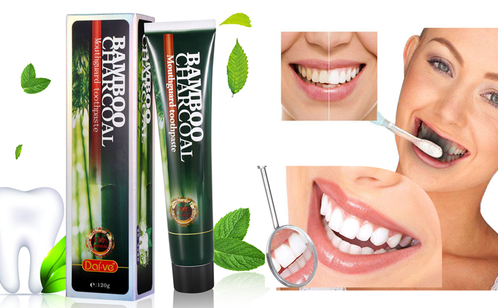 amazon com mabox natural black bamboo charcoal toothpaste proven