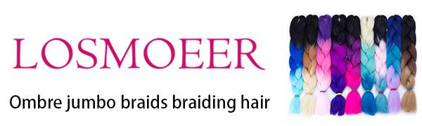 ombre jumbo braiding hair