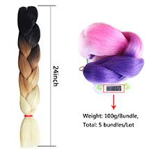 24inch jumbo braids