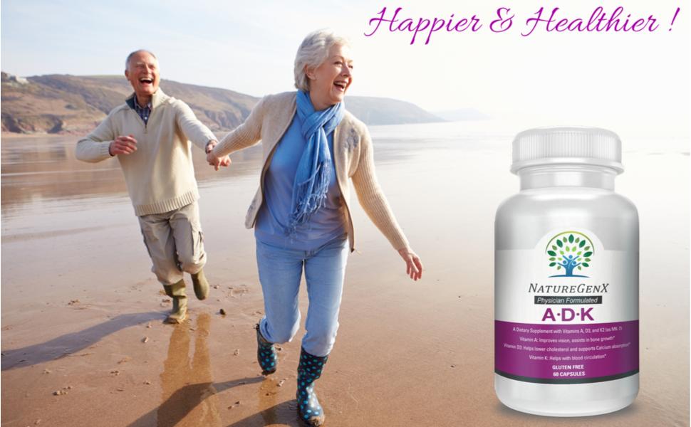 d-e-k-a vitamin supplement designs for health a.d.k vit d3 5000iu plus vit-k2 d3 plus k2 CALCIUM