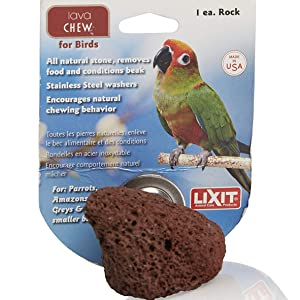 lava chew rock for birds