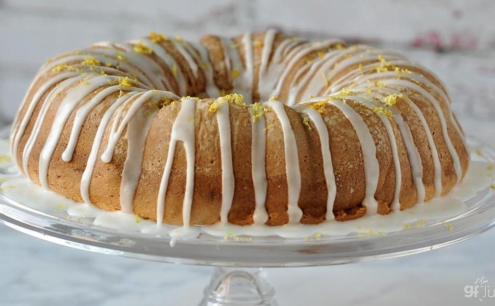 Gluten free flour lemon cake