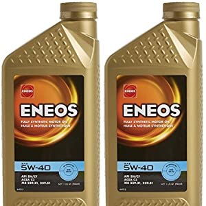 ENEOS 5W-40 (One gallon)