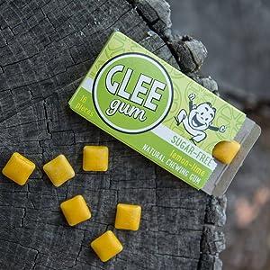 lemon lime sugar free gum