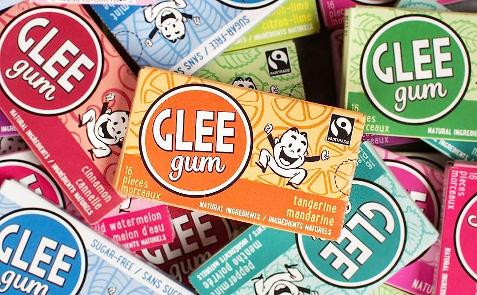 glee gum cinnamon tangerine