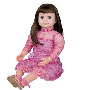 asky amy doll pink sparkling dress