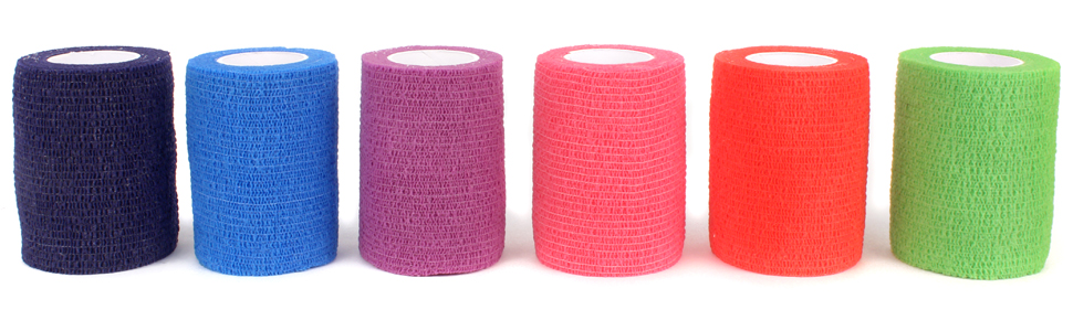 colored bandages