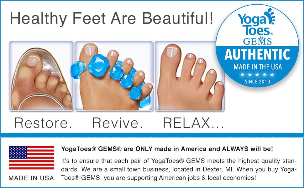 YogaToes GEMS баннер