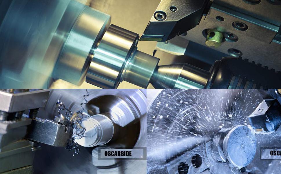 Oscarbide indexable turning tool holder set
