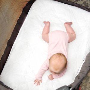 Amazon Com Little One S Pad Pack N Play Crib Mattress