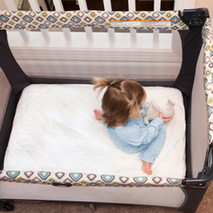 Amazon.com : Little One's Pad Pack N Play Crib Mattress Cover - Fits