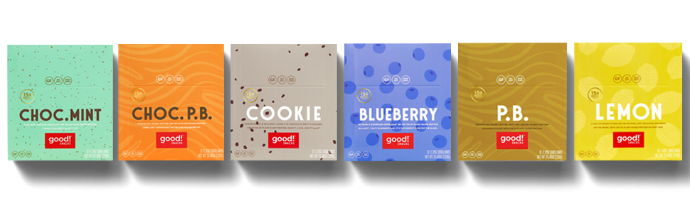 Good! Snacks - 6 available flavors