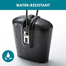 water resistant safe for outdoors pool and beach