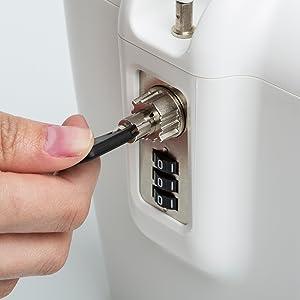 Kleidung & Accessoires Combination Lock Box Key Storage Lock Box 4-digit Combination Lock Waterproof Indoor/outdoor