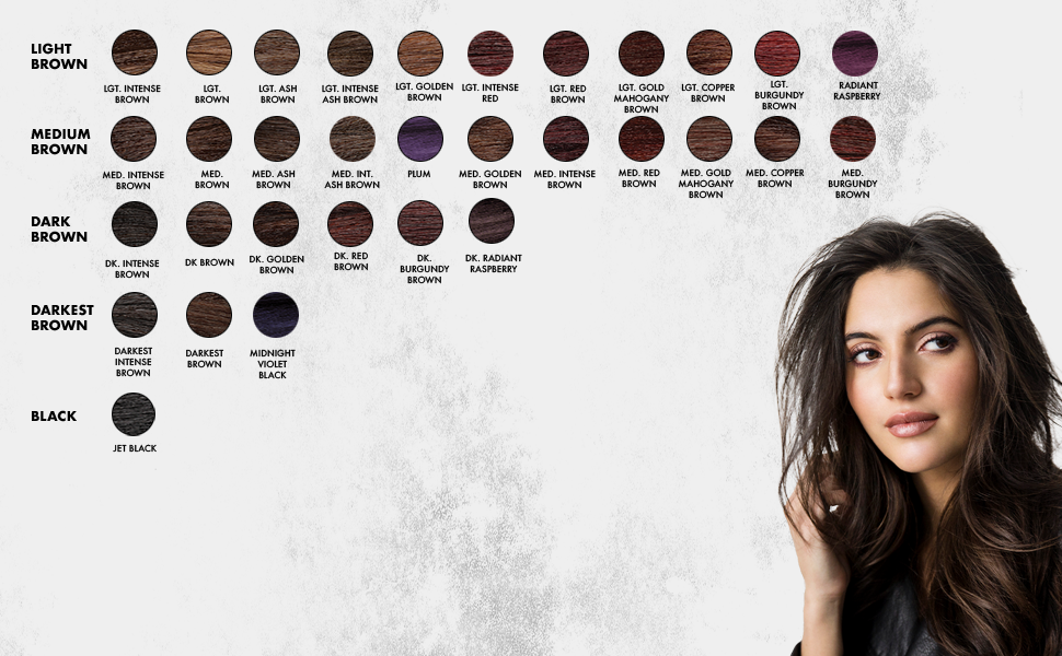 ion permanent hair color shades