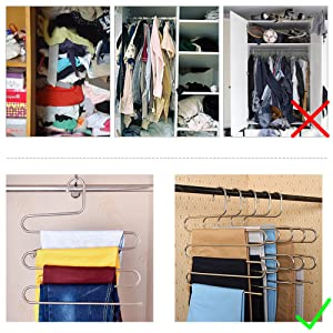 SAVE YOUR SPACE There Are 5 Layers For Each Rack That Make It Compact And  Organized. Save The Space In Your Closet That Offer You More Space To  Storage Some ...